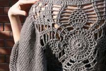 knit end crochet / kötés s horgolás együtt