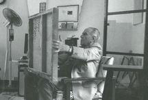 carloscabeza / Ma première exposition et premier vernissage, un artista precoz .Galeria Graphicart-magdalena Arria ,Jesus Soto,Belkis Balliache ,Carlos Cabeza, Viky German.1982