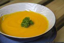 Crema de berenjena y zanahoria