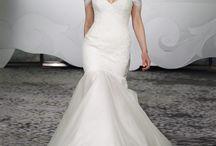 Off Shoulder Sleeve Wedding Dresses