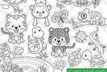 Materiali e illustrazioni per scuola