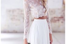 Wedding gown.