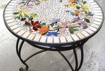 mosaïque table