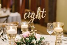 I've got your number: Table Number Inspiration