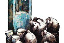 Angel Boligan Corbo / Le illustrazioni satiriche di uno dei più salaci e pungenti artisti contemporanei  www.boligan.com