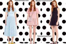 RED Valentino / RED Valentino collezione e catalogo primavera estate e autunno inverno abiti abbigliamento accessori scarpe borse sfilata donna.