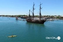 HMS Bounty in St Augustine