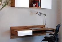 wall desk / by Wiley Bowen
