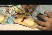 Painting / Pittura su carta, stoffa, legno, ecc...