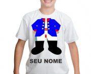 Camiseta Personalizada Infantil Com Nome / camiseta malha algodão com variedades de tamanhos modelos e cores