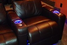 Home Theater / Turn a spare room into a home theater built by Tuscany Builders