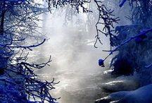 kış gezintisi / karın keyfini çıkarın.