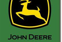 John Deer girl / BIG GREEN TRACTORS!!!!