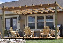 Outdoor Living / Outdoor rooms and decks