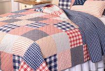 cubrelechos en patchwork