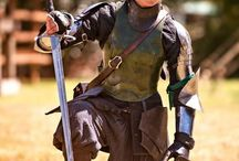En Garde and Lay On! / Swords, rapiers, and also ladies in armor