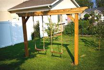 Swings and garden stuff