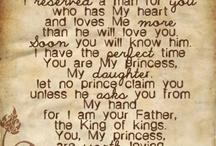 Wedding prayer for mydaughter