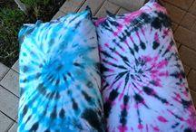 The dye pillowcase