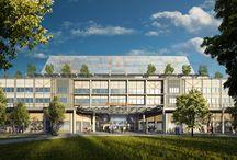 Midland Metropolitan Hospital / Contemporary hospital design