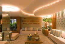 Living contemporâneo! / Veja + Inspirações e Dicas de decoração no blog!  www.construindominhacasaclean.com