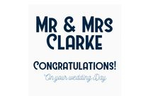 Personalised Wedding Day Cards / Personalised Wedding Day Cards, FREE U.K Delivery, Shop online at ashleyhigginsdesign.com