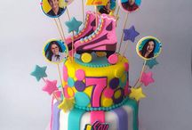 Soy Luna Cakes