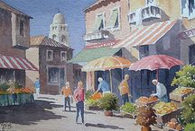 Ray Campbell Smith - my Grandfather / Beautiful watercolours