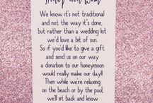 registry & honeymoon fund ideas