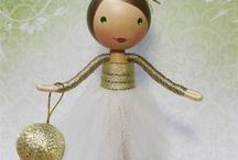 csipeszbaba, clothespin doll