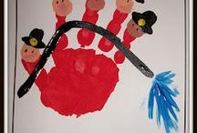 school handprints/feet / by Michelle Deal