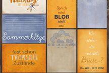 inspiration (journaling cards?) / inspirierende Bilder, (deutschsprachige) journaling cards, project life