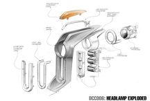 Design - sketching - exploded view
