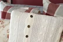 Sweater pillow case