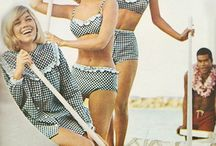 Vintage swimming suits.  Like..Love.