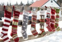 Christmas Stockings / Knitted, Felted, Quilted, or Crocheted Christmas stocking ideas for Christmas 2016