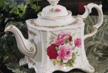 tea pots / by Brenda Johnson