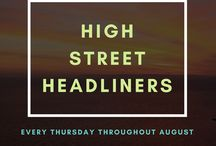 High Street Headliners 2017
