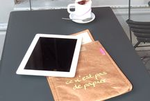 iPad padded cover / Be original with our quirky and unusual padded iPad cover which is super-strong, tear-proof and waterproof