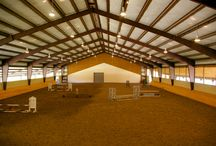 Indoor & Outdoor Riding Arenas / Gorgeous riding arenas.