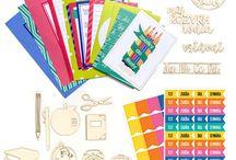 Kreativní kity Paper Garden / Aktuálně dostupné kreativní balíčky.  Exkluzivní materiály, výhodná cena a vyladěné barvy!