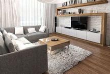 Grey-beige-brown lounges