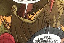 Comic Book Funny and Strange