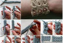 Wool, / Knitting    Crochet