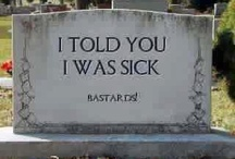 Some funny, some famous  / Gravestones