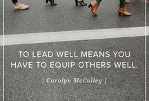 Leadership / by Arley Baker