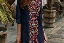 Ukrainian inspired dresses
