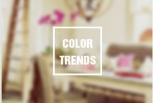 Spring 2016 Paint Color Inspiration / From fashion to beauty to home, the latest and greatest color trends of spring 2016 inspire your paint choices.