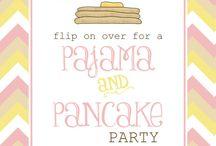 2nd birthday Pancakes and Pajamas / by Marci Gilbert