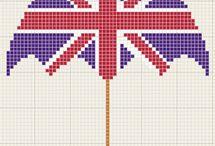 England cross stitch